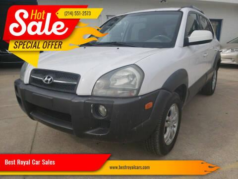 2008 Hyundai Tucson for sale at Best Royal Car Sales in Dallas TX