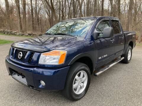 2011 Nissan Titan for sale at Lou Rivers Used Cars in Palmer MA