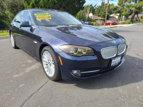 2013 BMW 5 Series for sale at CAR CITY SALES in La Crescenta CA