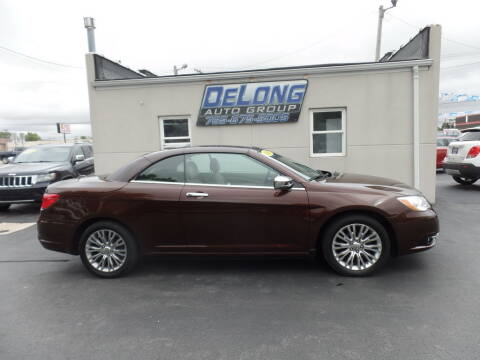 2012 Chrysler 200 Convertible for sale at DeLong Auto Group in Tipton IN