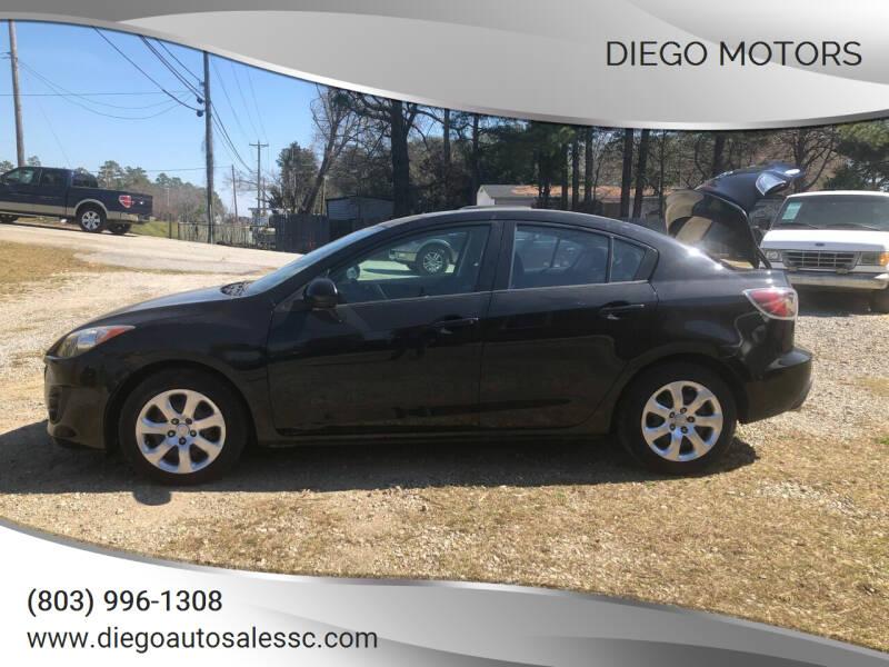 2010 Mazda Mazda3 Sedan for sale at DIEGO MOTORS in Lexington SC