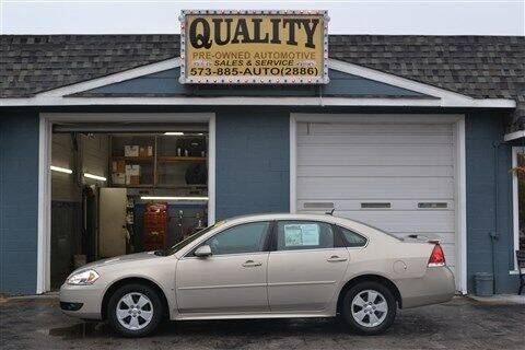 2010 Chevrolet Impala for sale at Quality Pre-Owned Automotive in Cuba MO