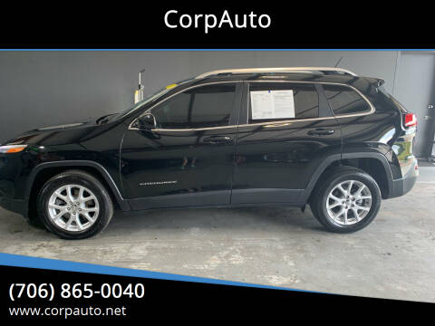 2018 Jeep Cherokee for sale at CorpAuto in Cleveland GA