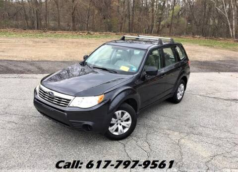 2009 Subaru Forester for sale at Wheeler Dealer Inc. in Acton MA