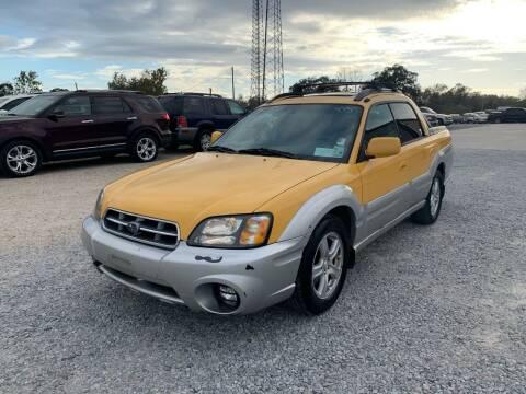 2003 Subaru Baja for sale at Bayou Motors Inc in Houma LA
