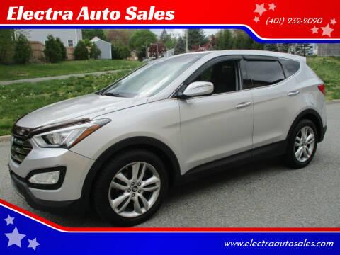 2013 Hyundai Santa Fe Sport for sale at Electra Auto Sales in Johnston RI