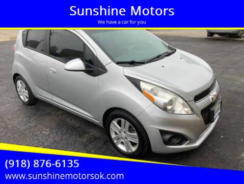 2014 Chevrolet Spark for sale at Sunshine Motors in Bartlesville OK