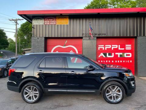2016 Ford Explorer for sale at Apple Auto Sales Inc in Camillus NY
