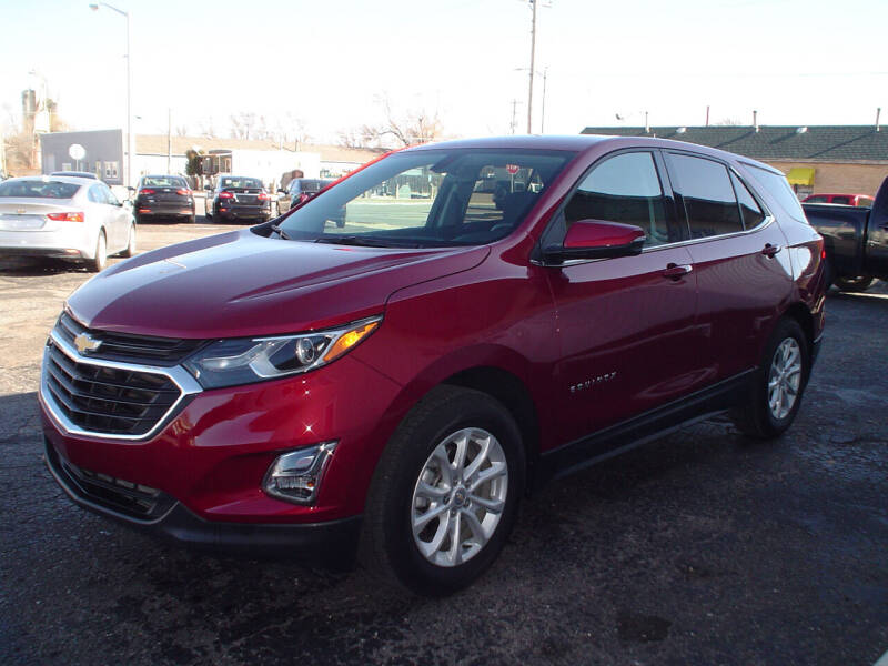 2018 Chevrolet Equinox for sale at World of Wheels Autoplex in Hays KS