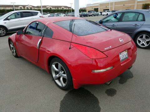 2006 Nissan 350Z for sale at MCHENRY AUTO SALES in Modesto CA