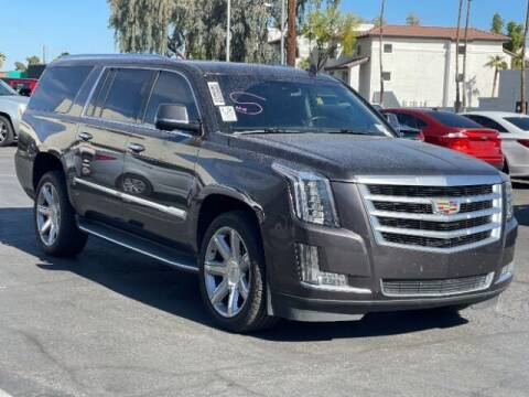 2016 Cadillac Escalade ESV for sale at Brown & Brown Wholesale in Mesa AZ