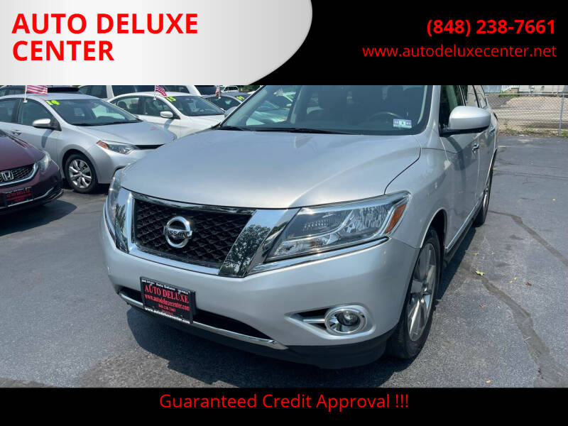 2014 Nissan Pathfinder for sale at AUTO DELUXE CENTER in Toms River NJ