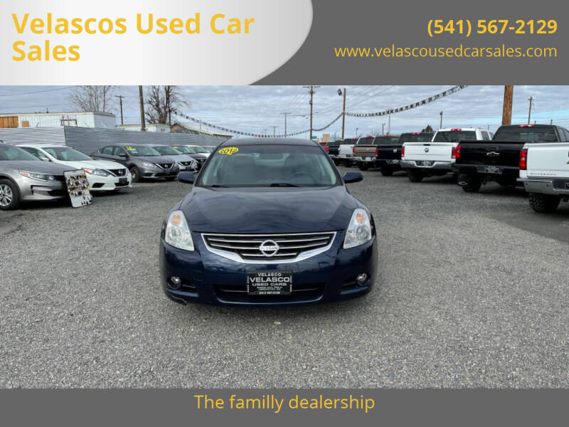 2012 Nissan Altima for sale at Velascos Used Car Sales in Hermiston OR