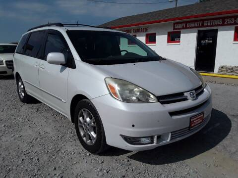 2004 Toyota Sienna for sale at Sarpy County Motors in Springfield NE