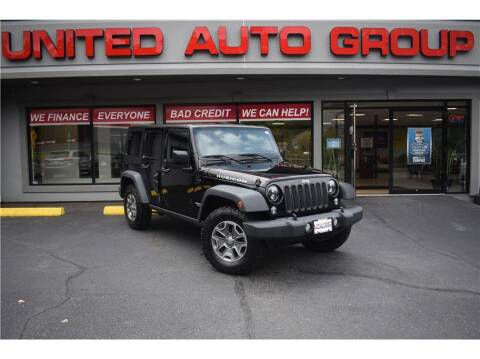 2015 Jeep Wrangler Unlimited for sale at United Auto Group in Putnam CT