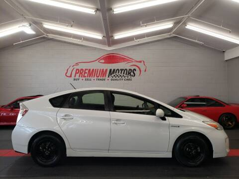 2012 Toyota Prius for sale at Premium Motors in Villa Park IL
