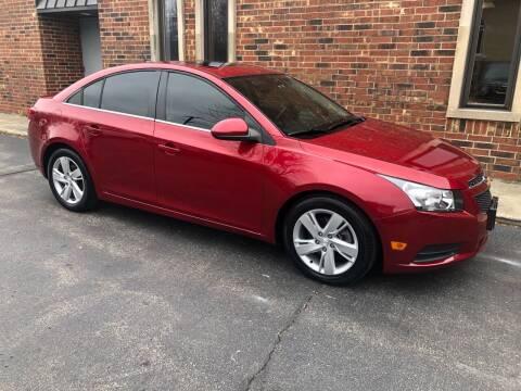 2014 Chevrolet Cruze for sale at Riverview Auto Brokers in Des Plaines IL