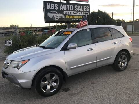 2007 Acura MDX for sale at KBS Auto Sales in Cincinnati OH