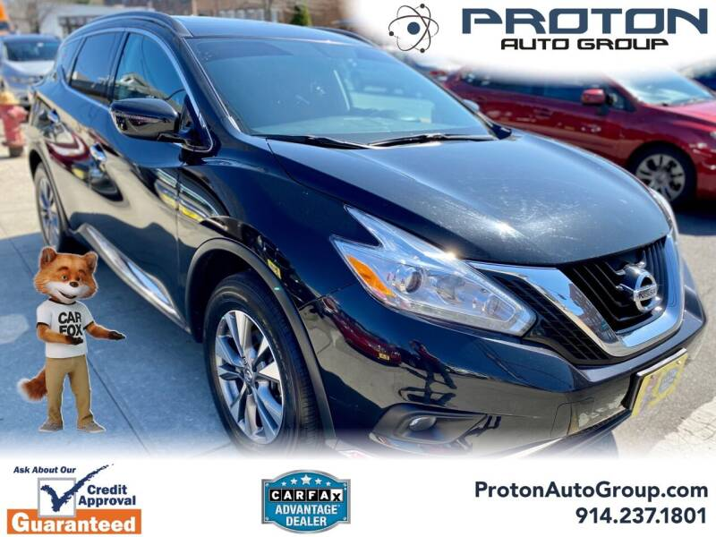 2017 Nissan Murano for sale at Proton Auto Group in Yonkers NY