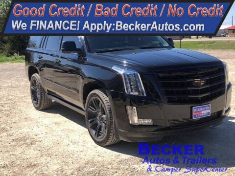 2016 Cadillac Escalade for sale at Becker Autos & Trailers in Beloit KS