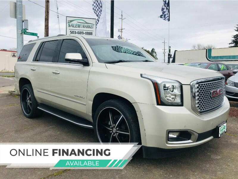 2016 GMC Yukon for sale at Salem Auto Market in Salem OR