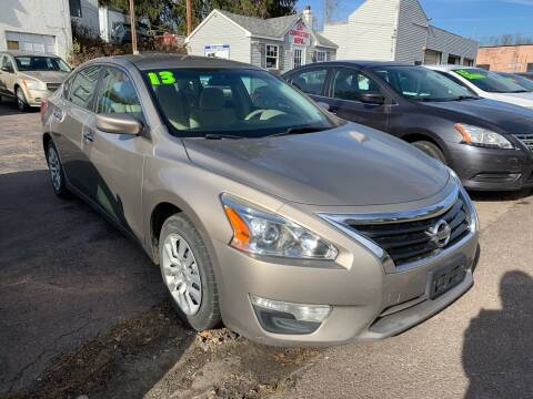 2013 Nissan Altima for sale at Alpha Motors in Scranton PA