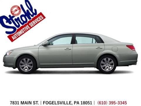 2005 Toyota Avalon for sale at Strohl Automotive Services in Fogelsville PA
