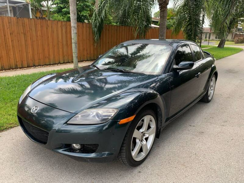 2005 Mazda RX-8 for sale at FINANCIAL CLAIMS & SERVICING INC in Hollywood FL