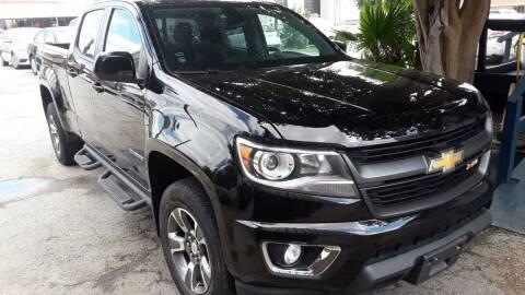 2017 Chevrolet Colorado for sale at RICKY'S AUTOPLEX in San Antonio TX