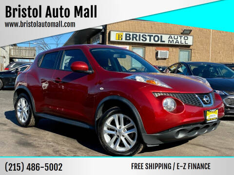 2013 Nissan JUKE for sale at Bristol Auto Mall in Levittown PA