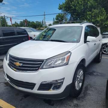 2014 Chevrolet Traverse for sale at America Auto Wholesale Inc in Miami FL