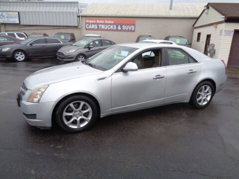 2009 Cadillac CTS for sale at Aspen Auto Sales in Wayne MI