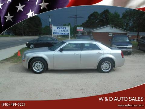 2007 Chrysler 300 for sale at W & D Auto Sales in Fayetteville NC