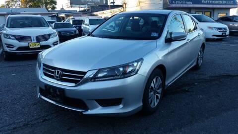 2014 Honda Accord for sale at Millennium Auto Group in Lodi NJ