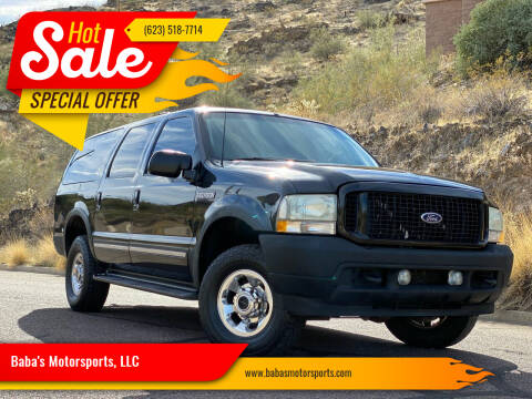2003 Ford Excursion for sale at Baba's Motorsports, LLC in Phoenix AZ
