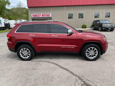 2014 Jeep Grand Cherokee for sale at Ramsey Motors in Riverside MO