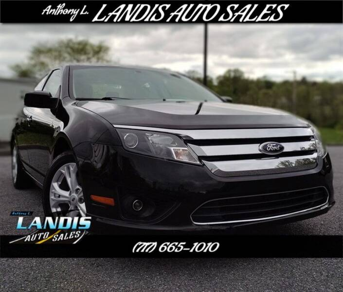 2012 Ford Fusion for sale in Manheim, PA
