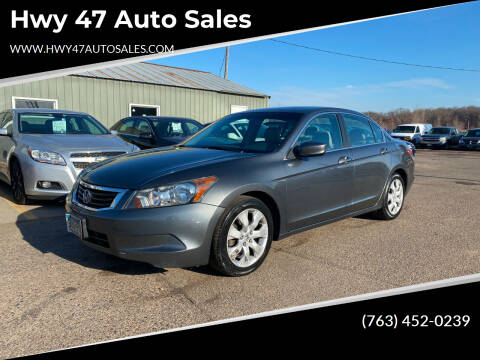 2008 Honda Accord for sale at Hwy 47 Auto Sales in Saint Francis MN