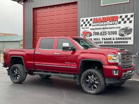 2019 GMC Sierra 2500HD for sale at Harper Motorsports-Powersports in Post Falls ID