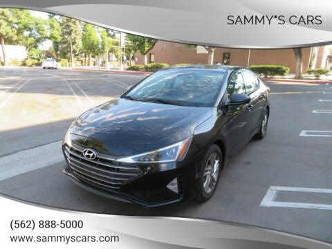 "2019 Hyundai Elantra for sale at SAMMY""S CARS in Bellflower CA"