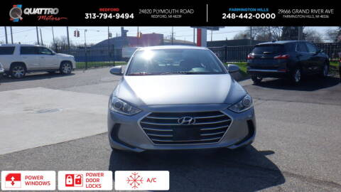 2017 Hyundai Elantra for sale at Quattro Motors 2 in Farmington Hills MI