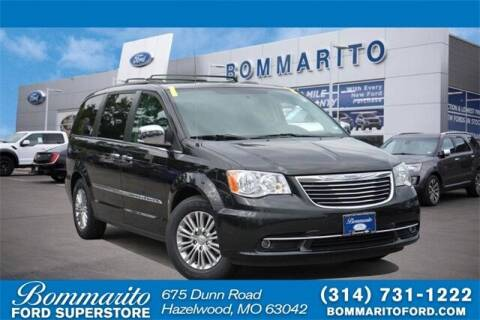 2016 Chrysler Town and Country for sale at NICK FARACE AT BOMMARITO FORD in Hazelwood MO