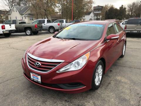 2014 Hyundai Sonata for sale at Bibian Brothers Auto Sales & Service in Joliet IL