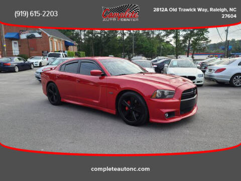 2012 Dodge Charger for sale at Complete Auto Center , Inc in Raleigh NC