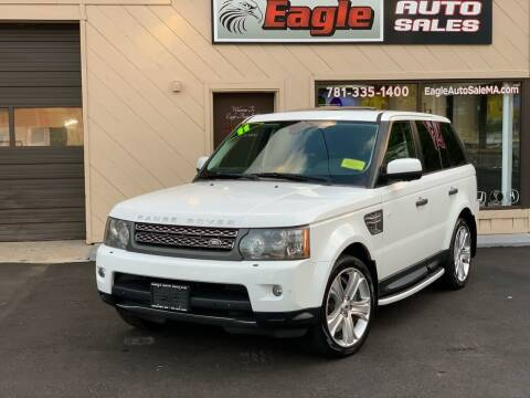 2011 Land Rover Range Rover Sport for sale at Eagle Auto Sales LLC in Holbrook MA