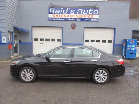 2013 Honda Accord for sale at Reid's Auto Sales & Service in Emporium PA