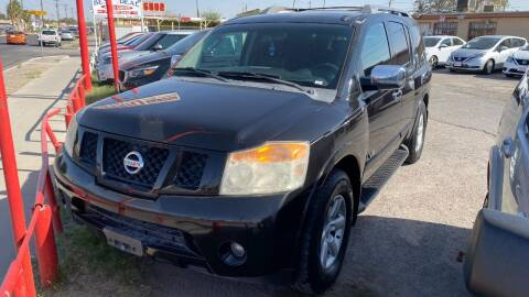2008 Nissan Armada for sale at BARRIO MOTORS in El Paso TX