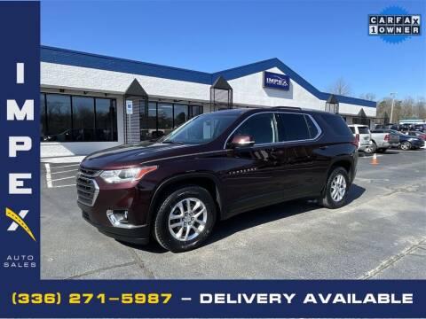 2018 Chevrolet Traverse for sale at Impex Auto Sales in Greensboro NC