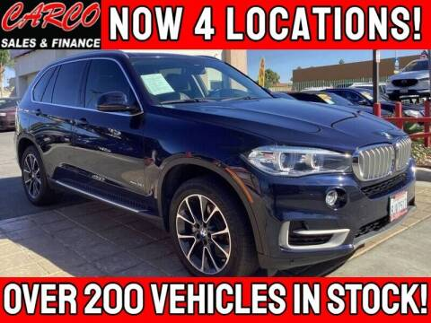 2016 BMW X5 for sale at CARCO SALES & FINANCE in Chula Vista CA