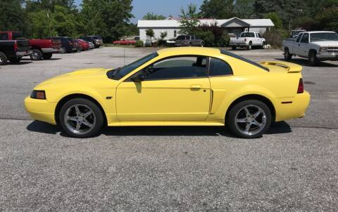 2002 Ford Mustang for sale at TAVERN MOTORS in Laurens SC